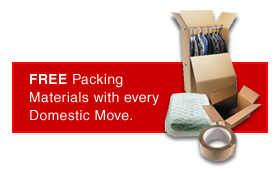 Free Packing Materials with every domestic move