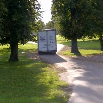 Removals for Hampton Court Palace