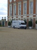 Moving Hampton Court Palace