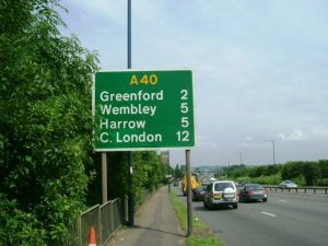 A40-western-avenue-Greenford:Northolt