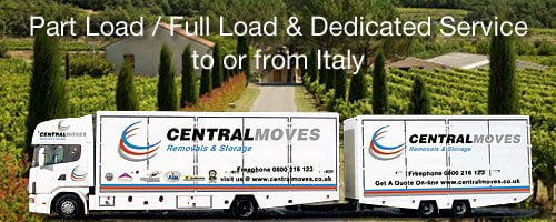 Removals to Italy