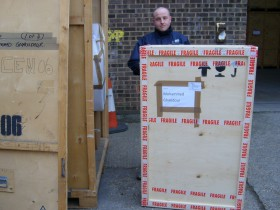 Case Making or Export Wrapping of furniture for Storage