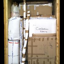 Containerised Furniture Storage