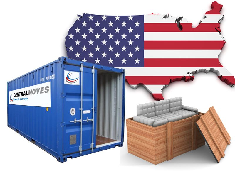 Shipping-furniture-to-America USA