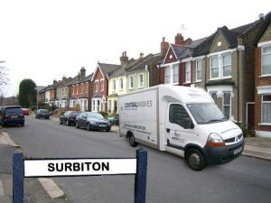 Removals-Surbiton