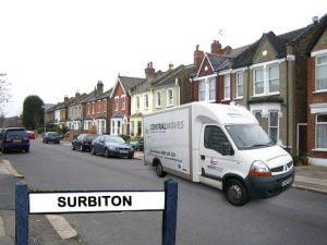 Removals-Surbiton