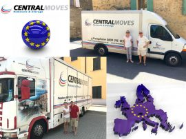 European Relocation in 2017 with Central Moves