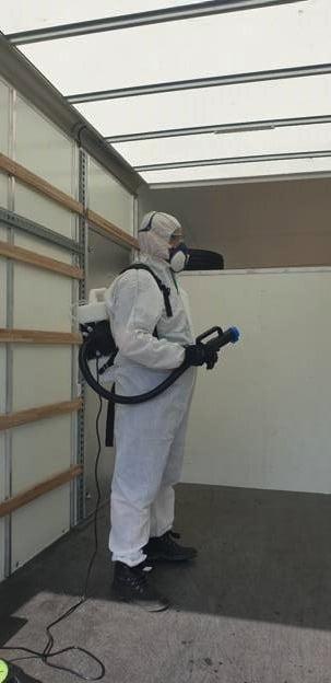Fogging for Covid.19 decontamination